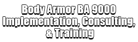 Body Armor BA 9000 Implementation, Consulting, & Training Logo